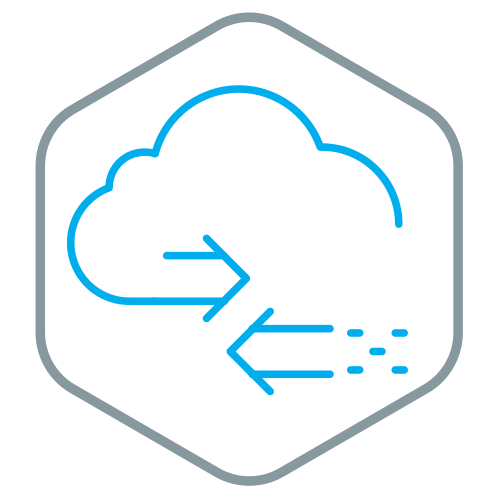 Cloud Hosting Icon on GNC Technology website