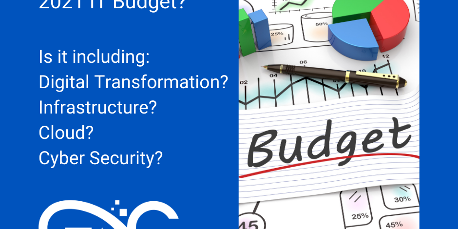 Setting your 2021 IT Budget