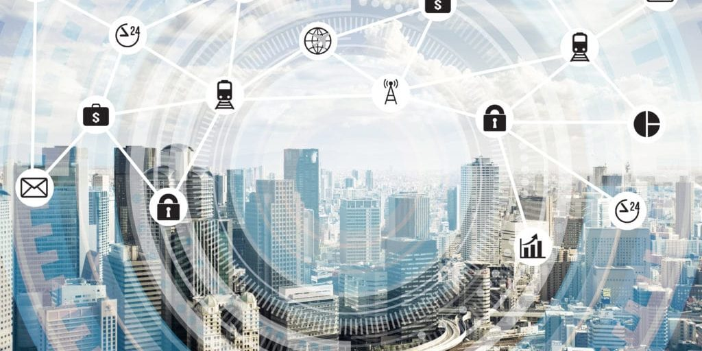 Smart City with colocation centre