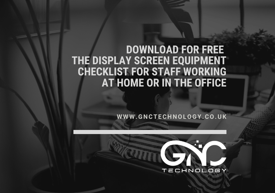 Download Display screen equipment checklist