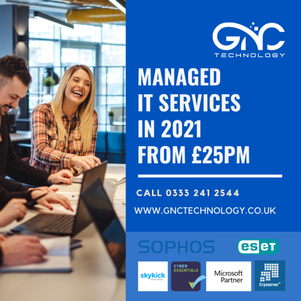 Managed IT Services from £25